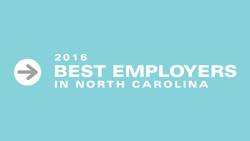 2016 Best Employers in NC