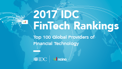2017 FinTech Rankings Top 100 Global Providers of Financial Technology
