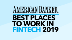 American Banker Best Places to Work in FinTech 2019 Award